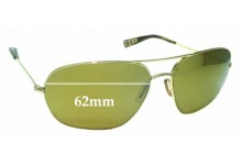 Sunglass Fix New Replacement Lenses for Paul Smith PS 815 - 62mm Wide