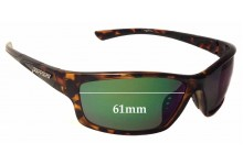 Sunglass Fix New Replacement Lenses for Peppers Nomad - 61mm Wide