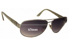 Persol 2288S Replacement Sunglass Lenses - 63mm wide