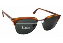Persol 3105-S Replacement Sunglass Lenses - 51mm Wide