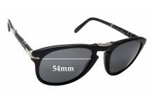 Persol Steve McQueen 714SM Replacement Sunglass Lenses - 54mm wide