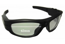 Pivothead Replacement Sunglass Lenses - 62mm wide