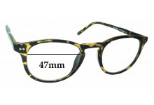Planet 52 Replacement Sunglass Lenses - 47mm Wide