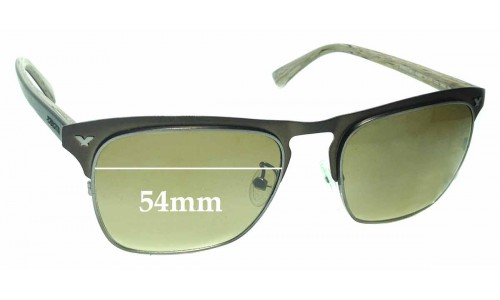Police Momentum 1 S 8949 Replacement Sunglass Lenses - 54mm Wide