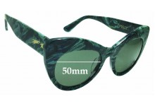 Poppy Lissiman Pussy Replacement Sunglass Lenses - 50mm Wide