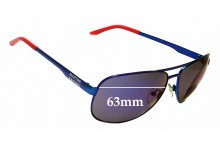 Sunglass Fix Replacement Lenses for Porsche Design Martini Racing  - 63mm Wide
