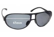 Porsche P'8445 Replacement Sunglass Lenses - 65mm wide