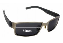 Porsche Design P'8470 Replacement Sunglass Lenses - 56mm wide