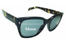Sunglass Fix Replacement Lenses for Prada SPR 09S - 54mm wide