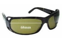 Sunglass Fix Replacement Lenses for Prada SPR02F - 68mm across
