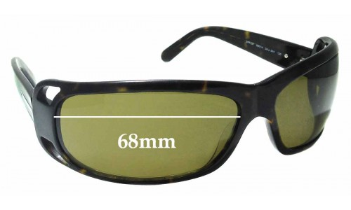 Sunglass Fix Replacement Lenses for Prada SPR02F - 68mm across