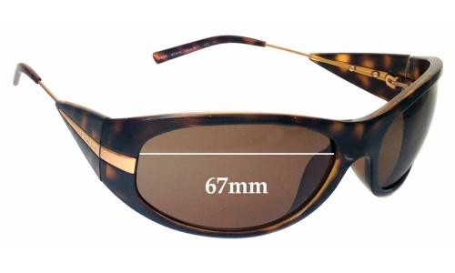 Prada SPR07I Replacement Sunglass Lenses - 67mm lens