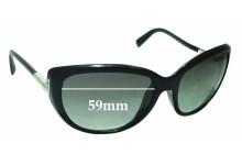 Prada SPR07O Replacement Sunglass Lenses - 59mm Wide