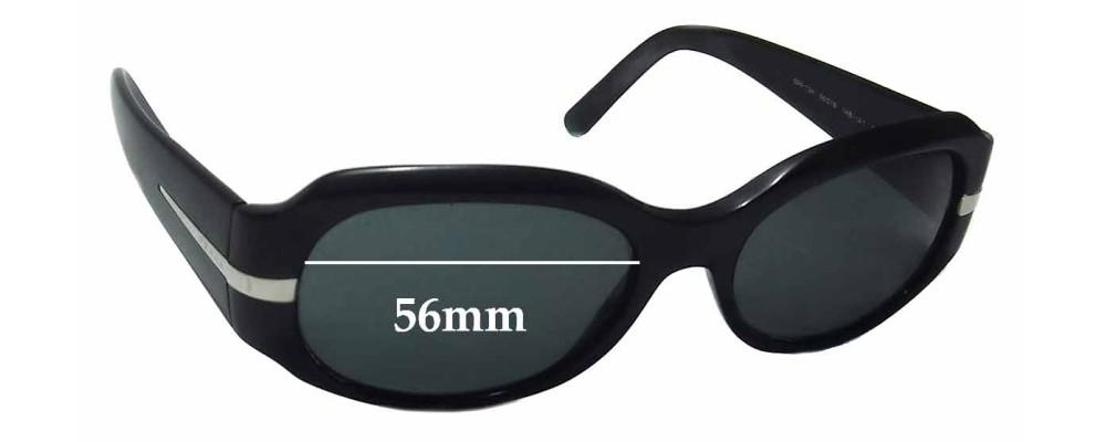 Prada SPR13H Replacement Sunglass Lenses - 56mm wide