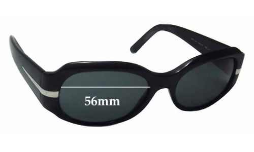 Prada SPR13H Replacement Sunglass Lenses - 56mm wide