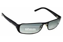 Sunglass Fix Replacement Lenses for Prada SPR52F 60mm wide