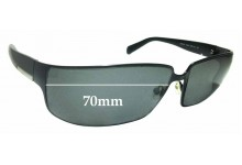Sunglass Fix Replacement Lenses for Prada SPR54F 70mm ** The Sunglass Fix Cannot Provide Lenses For This Model Sorry**