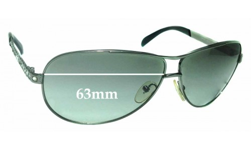 Sunglass Fix Replacement Lenses for Prada SPR56I - 63mm wide