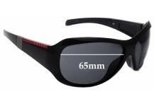 Sunglass Fix Replacement Lenses for Prada SPS 09I - 65mm wide