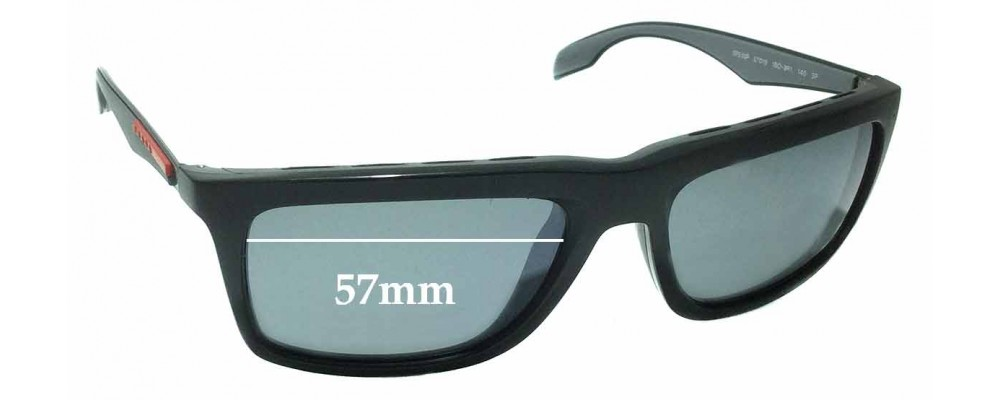 f822416d0e Prada SPS 02P Replacement Lenses 57mm by The Sunglass Fix®