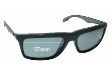 Prada SPS 02P Replacement Sunglass Lenses - 57mm wide