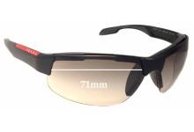 Prada SPS03P Replacement Sunglass Lenses - 71mm wide