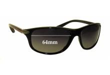 Prada SPS05M Replacement Sunglass Lenses - 64mm wide