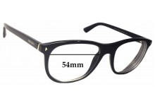 Prada VPR 17R Replacement Sunglass Lenses - 54mm wide