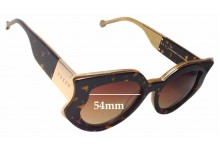 Sunglass Fix New Replacement Lenses for Preen by Thornton Bregazzi Nottingham - 54mm Wide