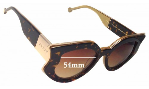 Preen by Thornton Bregazzi Nottingham Replacement Sunglass Lenses - 54mm wide