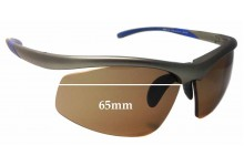 Puma Sun Rx 05 25672329 Replacement Sunglass Lenses - 65mm Wide