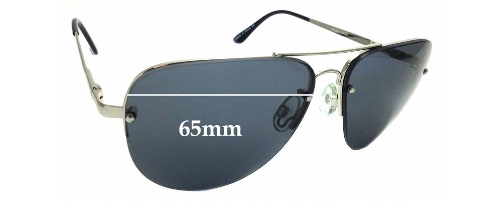 Sunglass Fix Replacement Lenses for Quay Australia Muse Fade 65mm wide
