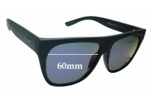 Sunglass Fix New Replacement Lenses for Quay Australia Drama By Day - 60mm Wide
