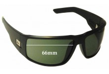 Quiksilver The Slab Replacement Sunglass Lenses - 66mm Wide