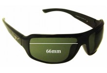 R.M. Williams Warrego Replacement Sunglass Lenses - 66mm wide