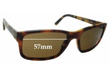 Sunglass Fix Replacement Lenses for Ralph Lauren PH4076 - 57mm wide