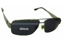 Ralph Lauren POLO 3054 Replacement Sunglass Lenses - 60mm wide