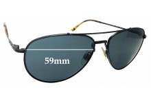Sunglass Fix Replacement Lenses for Ralph Lauren POLO PH3094 - 59mm wide