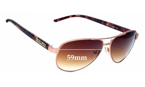 Sunglass Fix Replacement Lenses for Ralph Lauren RA 4004 - 59mm wide