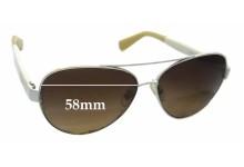 Ralph Lauren RA4114 Replacement Sunglass Lenses - 58mm wide