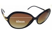 Sunglass Fix Replacement Lenses for Ralph Lauren RA 5103 - 60mm wide