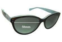 Ralph Lauren RA 5168 Replacement Sunglass Lenses - 58mm wide