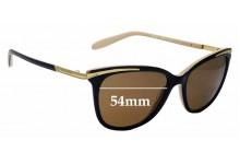 Sunglass Fix Replacement Lenses for Ralph Lauren RA 5203 - 54mm wide
