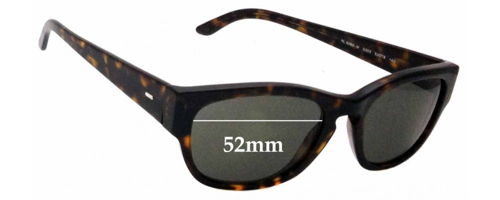 SFX Replacement Sunglass Lenses fits Ralph Lauren Polo 4044 52mm Wide
