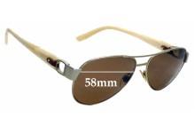 Sunglass Fix Replacement Lenses for Ralph Lauren RL 7047Q - 58mm wide