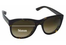 Ralph Lauren RL8141 The Ricky Replacement Sunglass Lenses - 56mm wide