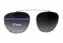 Randolph Engineering Clip on Replacement Sunglass Lenses- 57mm Wide