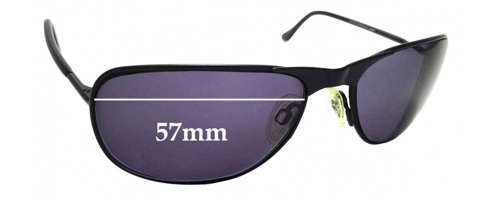 563a75eede5e6 Sunglass Fix Replacement Lenses for Randolph Raptor - 57mm Wide ...