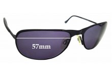 Sunglass Fix Replacement Lenses for Randolph Raptor - 57mm Wide