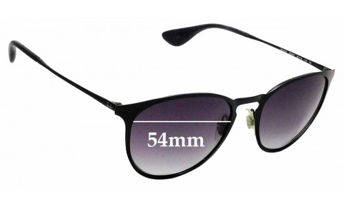 Sunglass Fix Replacement Lenses for Ray Ban RB3539 - 54mm wide